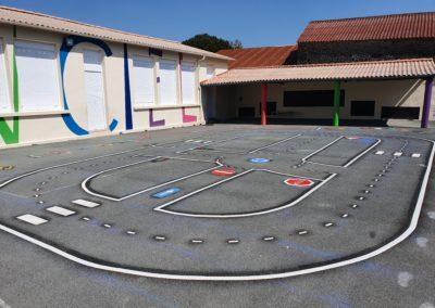 École Arc en ciel STE CÉCILE - Circuit vélo